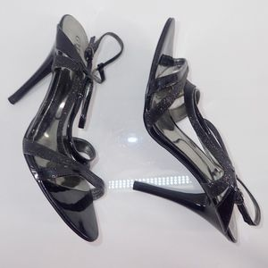 "Guess Stiletto Shoes Gwodana 8.5M Strappy 5"" Heels"